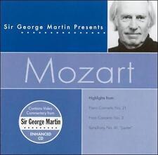 Sir George Martin Presents Mozart ECD (CD, Apr-2002, Compendia Music Group)