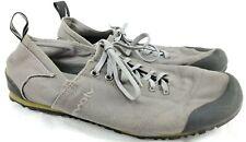 Evolv Trax Mens Rock Climbing Shoes Sz 9.5 Women 10.5 Gray Lace Up Outdoor