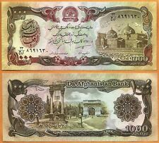 Afghanistan, 1991, UNC, 1000 Afghanis, P- 61c(1)