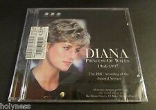 DIANA PRINCES OF WALES / BBC RECORDING OF FUNERAL SERVICES / CD / FACTORY SEALED