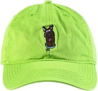 Scooby-doo Me Baseball Cap Green Embroidered Character Art