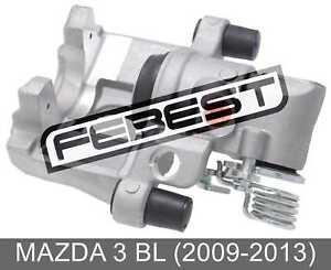 Rear Left Brake Caliper Assembly For Mazda 3 Bl (2009-2013)