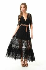 Lace Regular Size Maxi Dresses for Women