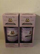 Sunny Isle Jamaican Black Castor Oil Lavender Hair Scalp Growth 4 oz- (2 Pack)