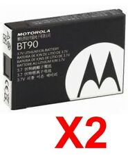 Lot Of 2 Oem Motorola Bt90 Extended Battery For Q9C Q9H Moto Q K1m W315 W385