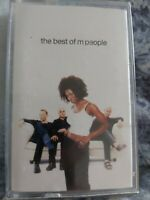 """M PEOPLE  """" THE BEST OF M PEOPLE """"  CASSETTE"""