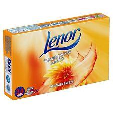 Lenor (Bounce) Asciugatrice Brezza Estiva FOGLI 34 Pack-per freschezza all'aperto