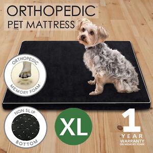 110CM XL Pet Bed Mattress Dog Cat Memory Foam Pad Mat Cushion