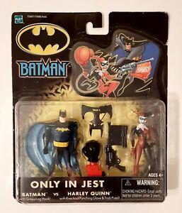 Batman vs Harley Quinn Only In Jest Figure Set Hasbro 2002