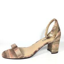 Vaneli Lilian Womens Size 9 M Caffe Kimbel Heel Ankle Strap Sandals.