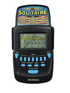 Radica Solitaire Klondike Vegas Electronic Handheld Game Flip Top 3620