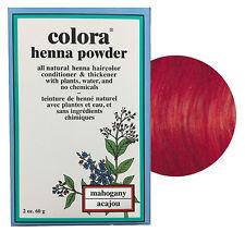 Colora Henna Powder All Natural Hair Color 60g Mahogany
