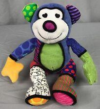 ROMERO BRITTO Mini MONKEY Plush Stuffed Animal Matisse 4024560 Popplush Enesco