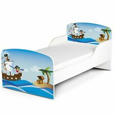 PIRATES MDF TODDLER BED NEW WOODEN