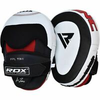 RDX Curved Focus Pads Mitts,Hook and Jab Punching Kick Boxing Muay Thai MMA-Pair
