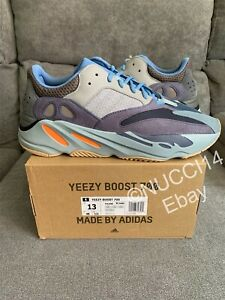 Brand New Adidas Yeezy 700 Boost Carbon Blue Size 13 with Receipt FW2498