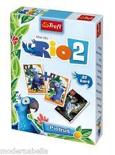 Rio 2 mazzo di 25 carte da gioco Bambini classico Peter Nero