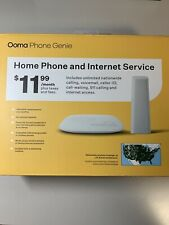 SEALED Ooma Phone Genie, Home Phone Service With No Internet Connection Required