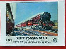 POSTCARD  ADVERTISING - LOCO 6100 GRENADIER GUARDSMANLMS SCOT PASES SCOT