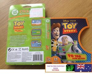 LeapFrog ClickStart Educational Software Toy Story to 100 and Beyond