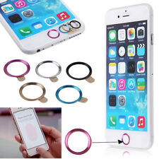 New Metal Home Button Ring Circle Cover Sticker Skin For Apple iphone 5S 6 6Plus