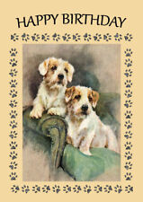 SEALYHAM TERRIER DOG BIRTHDAY GREETINGS NOTE CARD