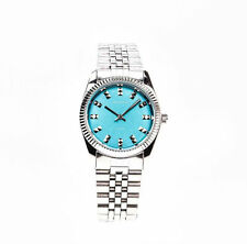 Sekonda 2067 Stainless Steel Bracelet Turquoise Dial Ladies Watch - RRP £44.99