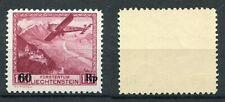 Liechtenstein 1935 Timbre Courrier Aerea MNH Unifiée A14