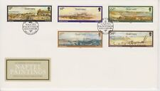 Unaddressed Guernsey FDC Cover 1985 Naftel Paintings 10% off 5