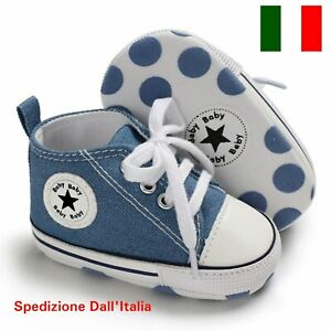 scarpe da neonato bimbo bimba tennis ginnastica neonati bebè