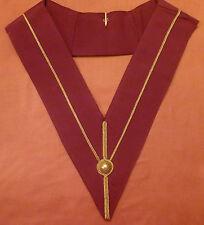New Masonic RA Royal Arch Chapter Past Principals Collar-Quality collar