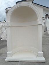 CAPPELLA CUPOLA NICCHIA GROTTA MADONNA SANTI IN CEMENTO 525 MARMO PIETRA H121 cm