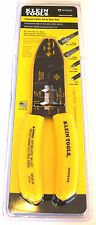 KLEIN TOOLS COAXIAL CABLE CRIMPER STRIPPER CUTTING PLIERS RG6 RG59 VDV010-019