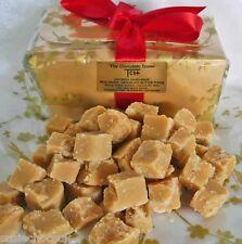 Hand-made White Belgian Chocolate Butter Fudge 500g Gift Box