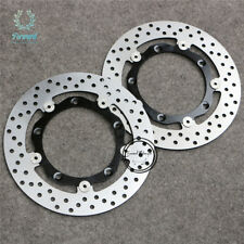 Floating Front Brake Disc Rotor Fit For Yamaha 12-16 T-max XP530 14 15 Tmax530