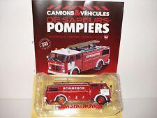 CAMION SAPEURS POMPIERS PEGASO AUTOPOMPE COMET 1091/1 POMPIERS BARCELONE - 1/43°