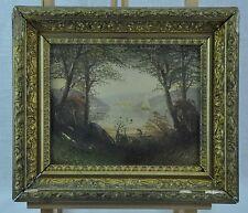 Nice vintage painting. landscape, oil on board. Not  Signed (BI#MK/170425)