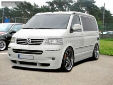 Front Bumper spoiler lip for VW T5 03-09 Caravelle Multivan chin apron Valance