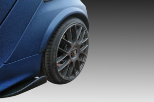 SMART FORTWO 451 2007-2014 SIDESKIRTS FLATS ABS PLASTIC