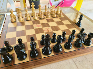 Exclusive French Lardy Chess Pieces with Extra Queens