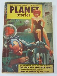 Planet Stories Pulp March 1954 Vol. 6 #5 VG