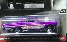 HOTWHEELS  REDLINE CLUB 65 MERCURY COMET CYCLONE ALLOYS RUBBER TYRES