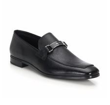 2017 NEW $720  Prada Black Leather Bit Loafer Dress Shoes Size 11 EU / 12 US