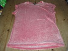 Topshop Cotton Crew Neck Regular Size T-Shirts for Women