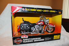 "BUDDY L HARLEY-DAVIDSON CLASSIC CRUISERS #5606 - NEW IN BOX - 11"" LONG"