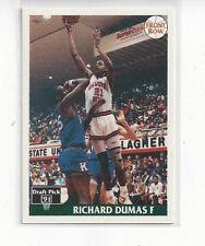 1991 FRONT ROW BASKETBALL JAPANESE RICHARD DUMAS #30 - OKLAHOMA STATE COWBOYS