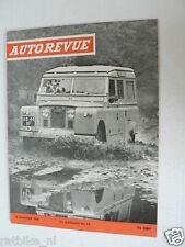 AUTOREVUE 1966-23,TOYOTA COROLLA 1100,FIAT DINO,SHOW TURIJN,BMW 1600,LANDROVER