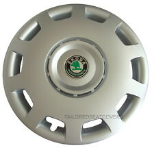 14''Skoda Fabia Felicia   hub caps  wheel trims 4 x 14'' silver