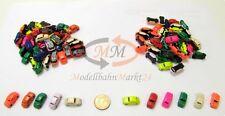 FIAT Nuova 500 Cinquecento 100 Stk verschiedene Farben Modell Maßstab 1:160 NEU