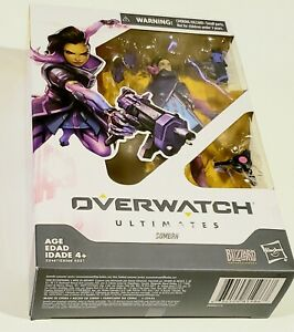 """Sombra from Overwatch Ultimates Series  6"""" Collectible Figure Articulated Hasbro"""